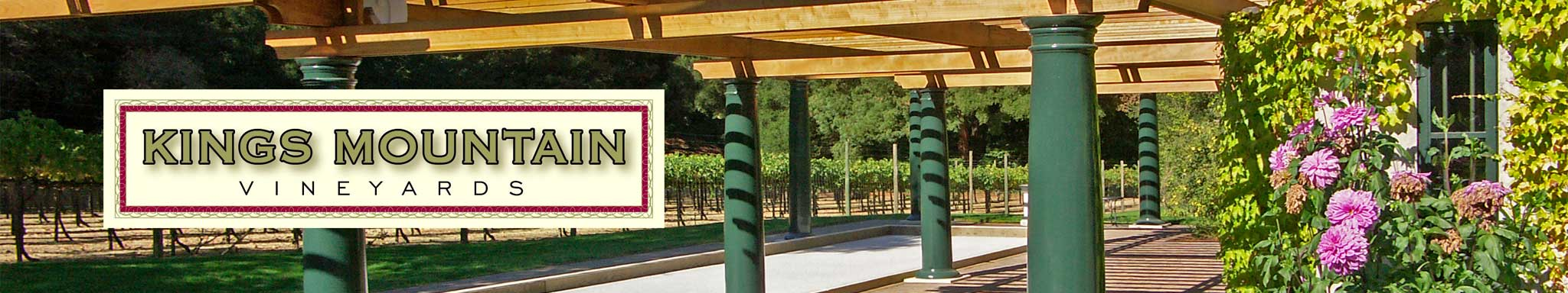 Kings Mountain Vineyards Logo Banner